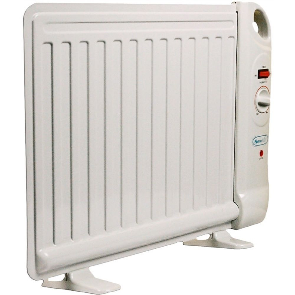 Portable Electric Heater Convection Panel Thermostat