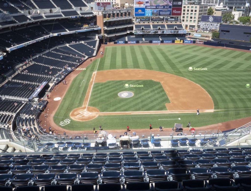 The Most Brilliant Padres Seating Chart In 2020 Seating Charts Seat View Seating