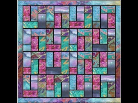 Batik Stained Glass Quilt Pattern Video S 243 Videos