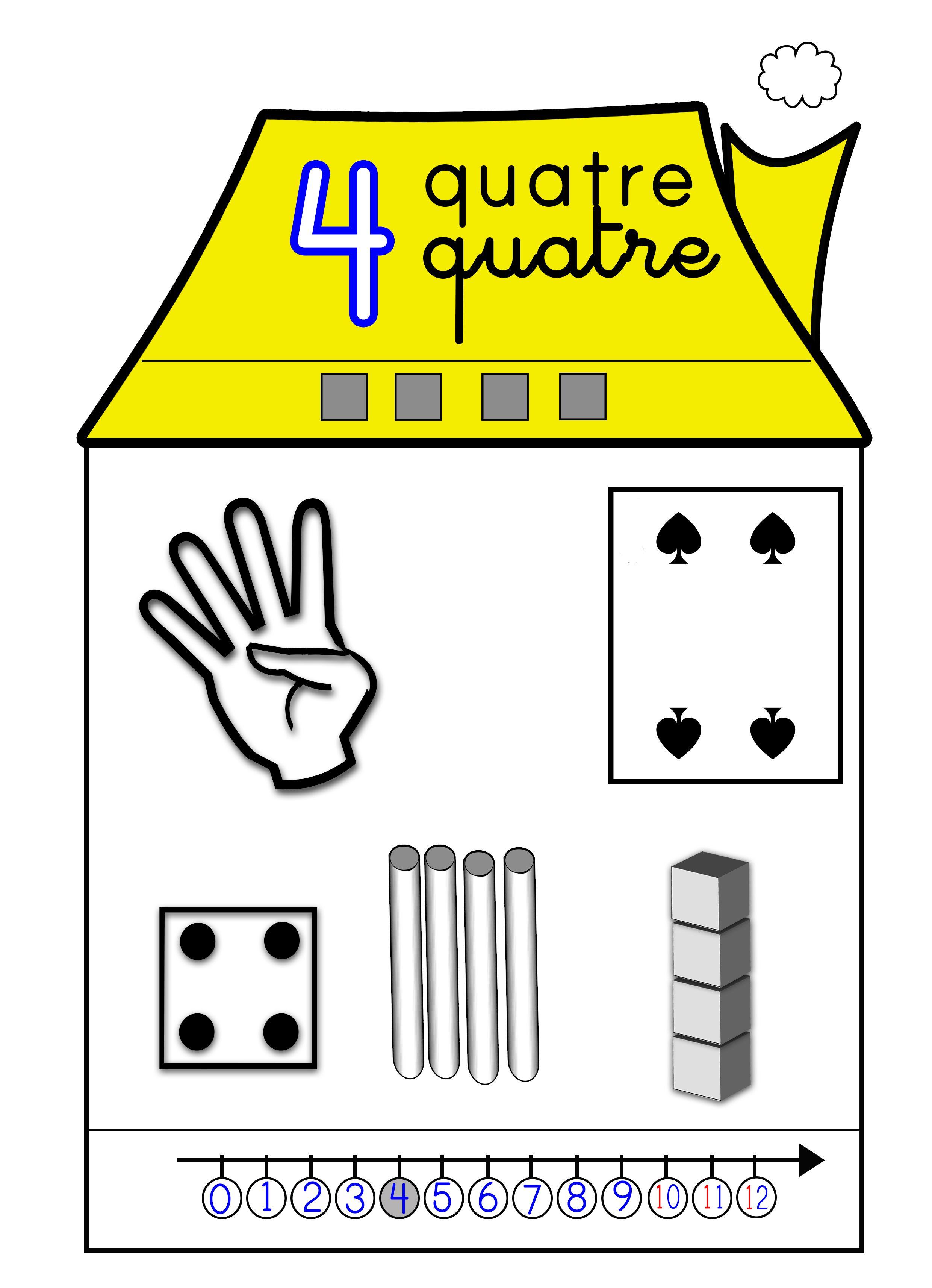dossier affiches maisons des nombres de 1 20 maths pinterest les nombres dossier et. Black Bedroom Furniture Sets. Home Design Ideas