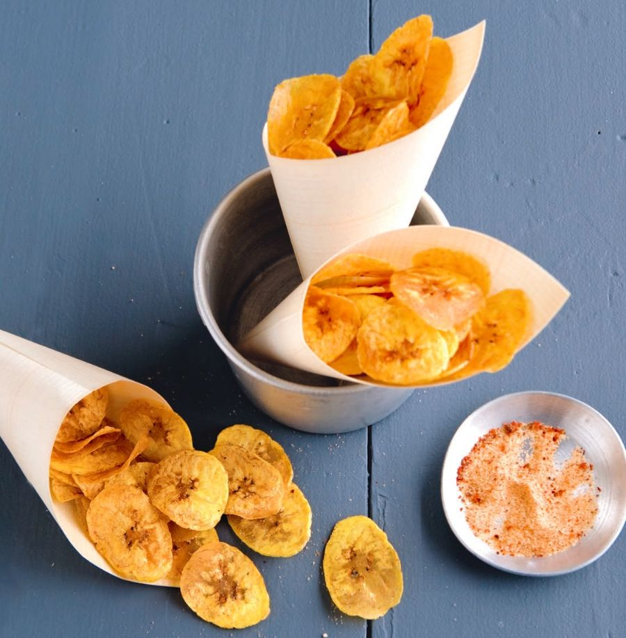 Homemade bananenchips met cayennepeper - Culy.nl