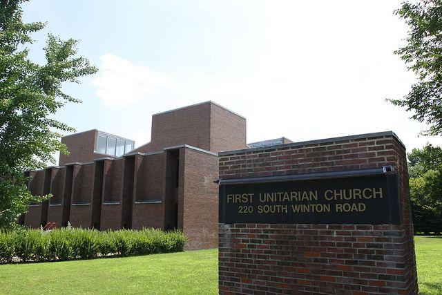 First Unitarian Church, Rochester, NY. Architect: Louis Kahn.