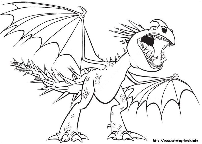 How To Train Your Dragon Coloring Picture Dragon Coloring Page Cartoon Coloring Pages Coloring Pictures