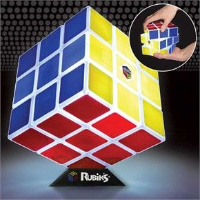 Rubik's Cube functions and a puzzle and a lamp. Light up Rubik's Cube!