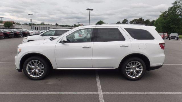2016 Dodge Durango Sxt Plus Bright White With Southwest Heat
