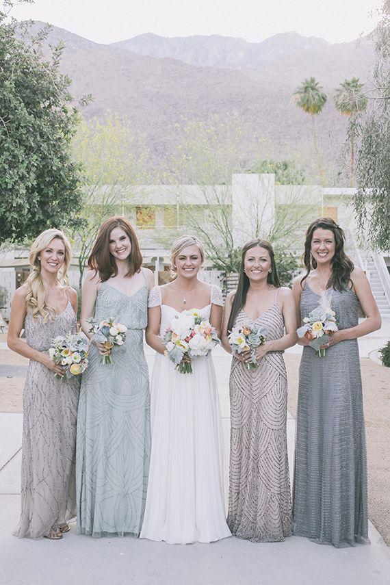 spring wedding dress #springwedding #outdoorwedding #bridesmaid ...