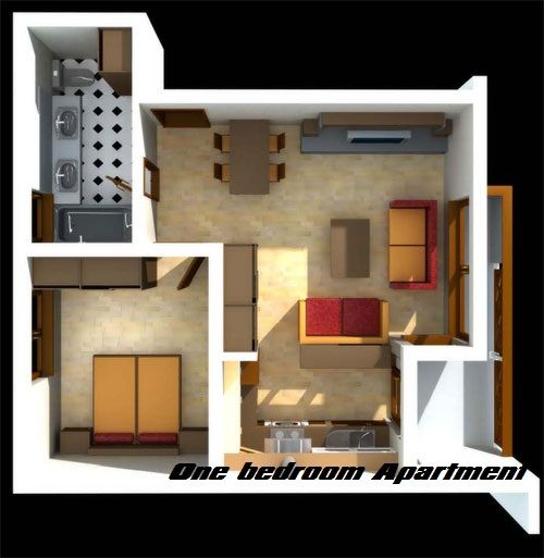 Difference Between Studio Apartment And One Bedroom Studio