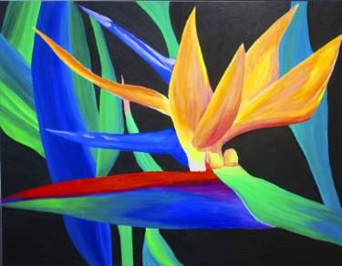 "Saatchi Art Artist Elizabeth Wimsatt; Painting, ""Love Is A Bird Of Paradise"" #art"