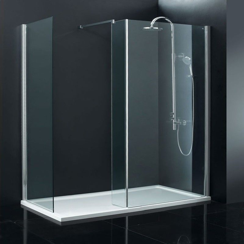 Milano Beka Walk In 8mm Shower Enclosure 1200 X 800 Frameless Shower Enclosures Walk In Shower Enclosures Shower Enclosure