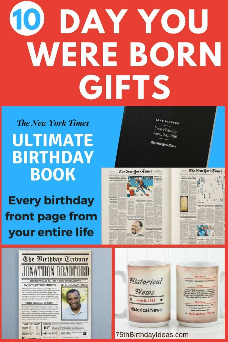 The Day You Were Born Gifts