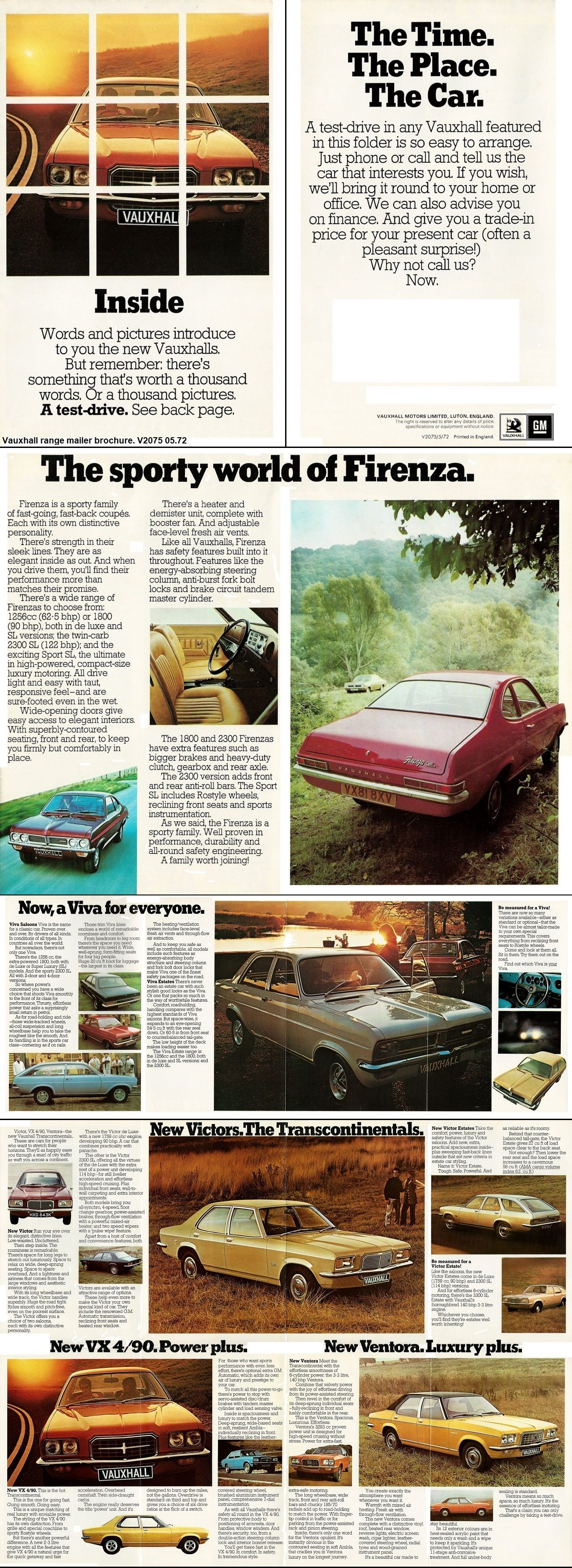 Pin By Rebelghost 50s A Furious Love On Vauxhall Hc Firenza Brochures Uk Car Ads Vauxhall Vintage Cars