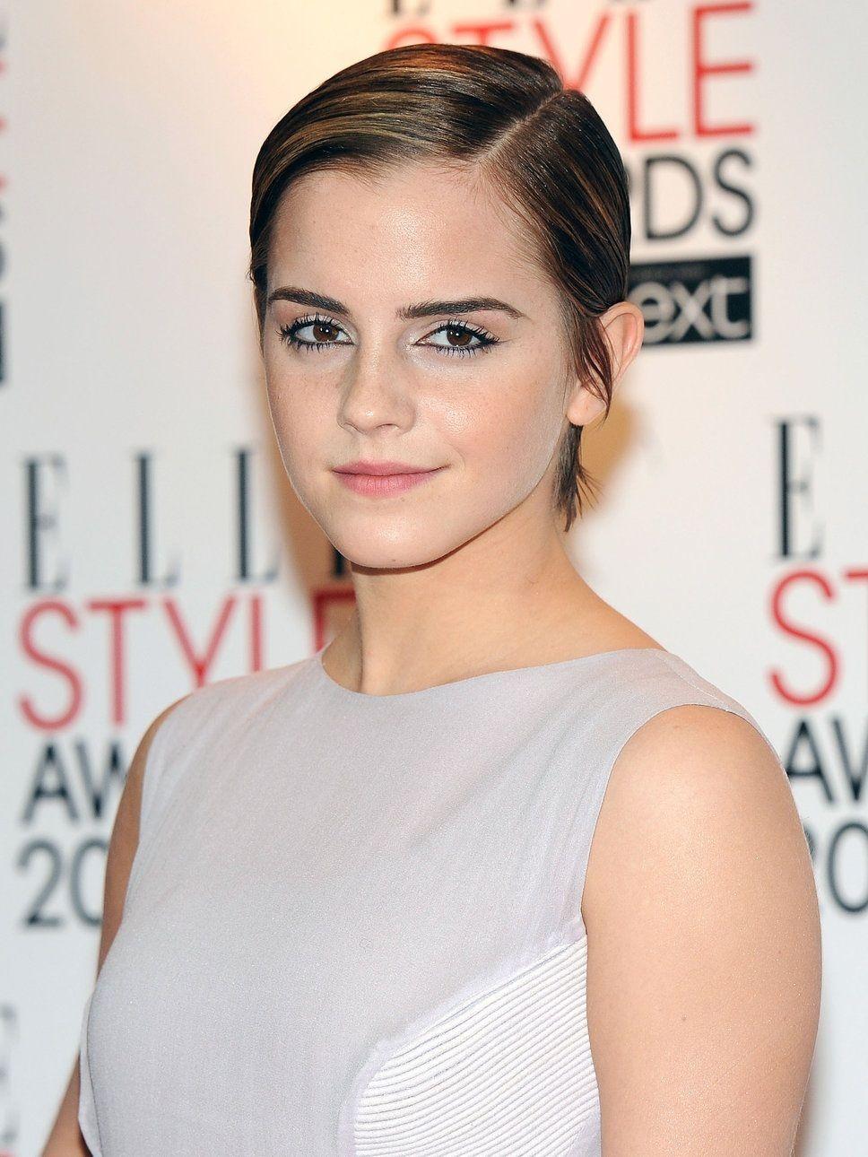 Emma Watson looking Fabulous in short hairs Short hair