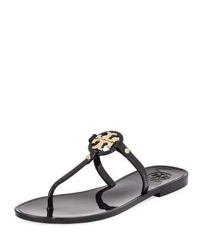 248b82d91 Tory Burch Mini Miller Flat Leather Thong Sandal