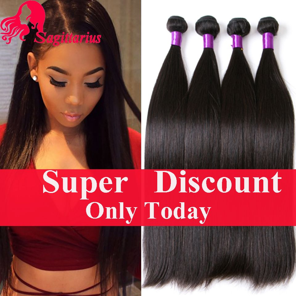 Indian Virgin Hair Straight 4bundles Deal 7a Unprocessed Raw Indian