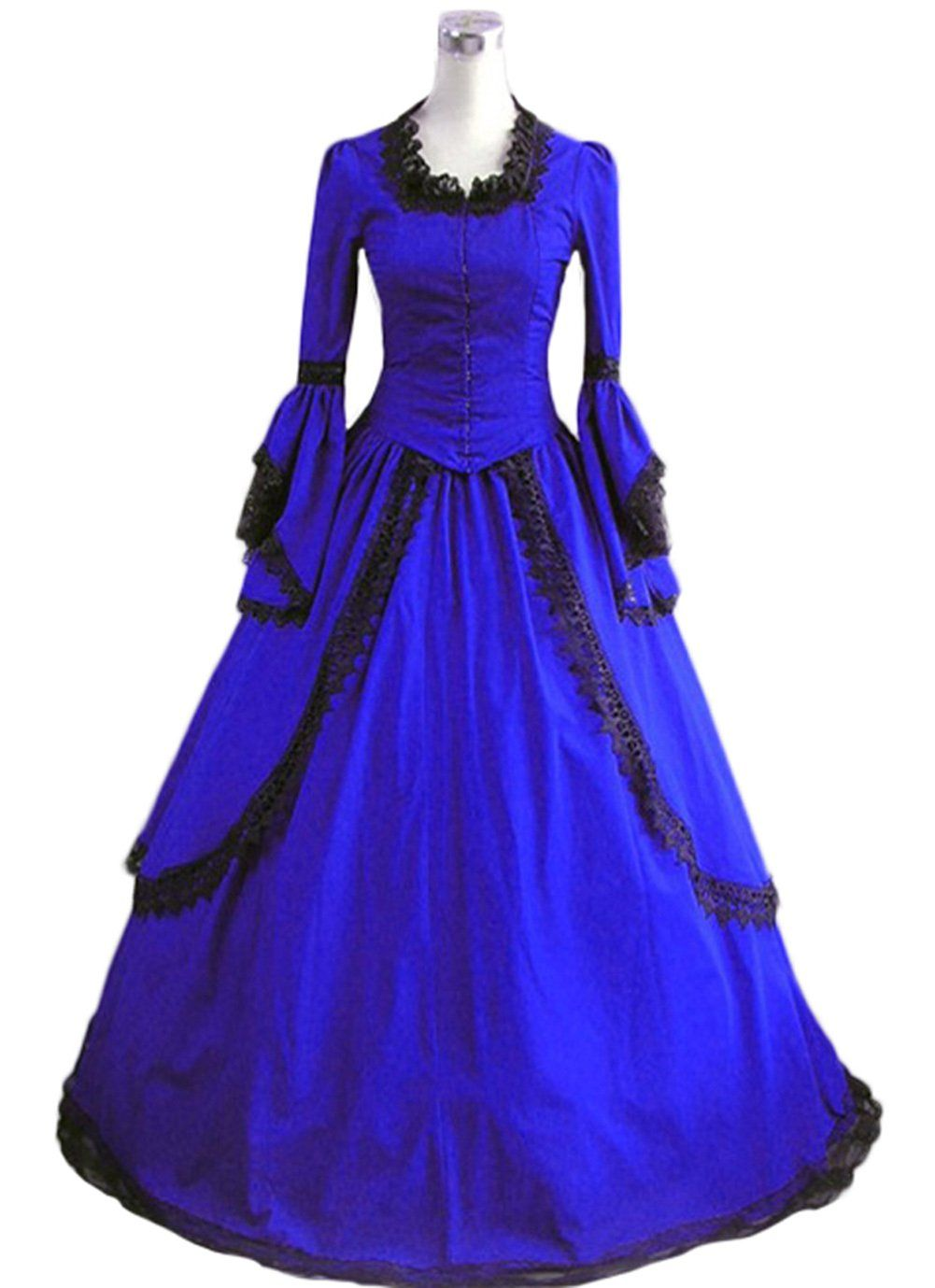 Southern Belle Ball Gown Victorian Party Dress Adult Women Halloween Costume   ae06a4523b82