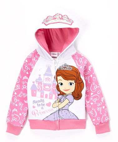 Love this Sofia the First Zip-Up Hoodie - Toddler by Sofia the First on #zulily! #zulilyfinds