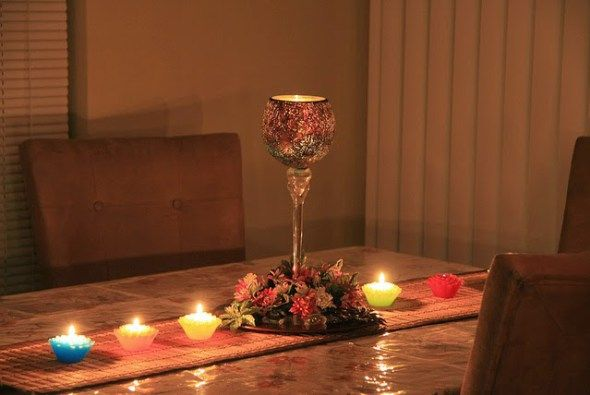 Nice Diwali Themed Tablescape.{How Do You Celebrate Diwali?} Rajasthani  Traditions At The