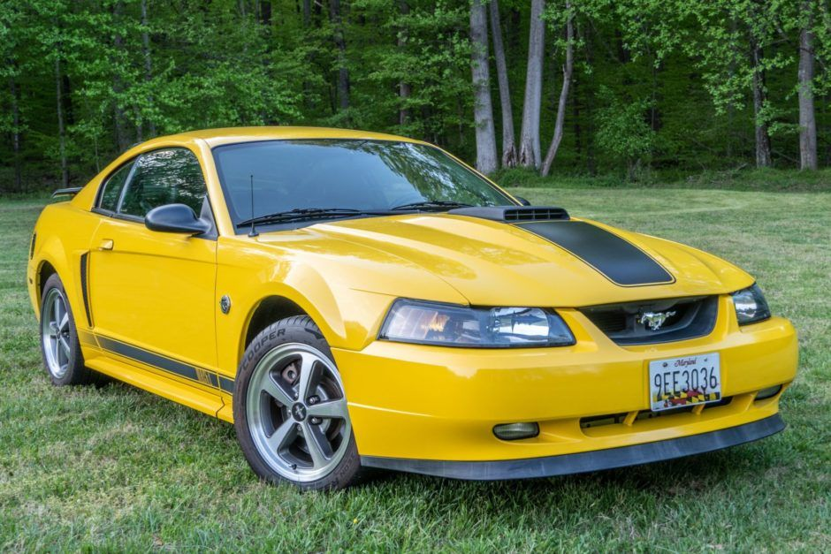No Reserve 2004 Ford Mustang Mach 1 In 2020 2004 Ford Mustang Ford Mustang Mustang Mach 1