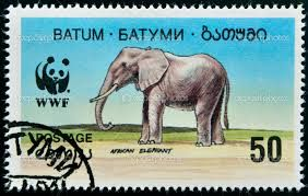 Resultado de imagem para stamps elefantes