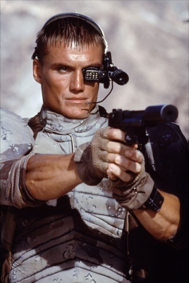 Image result for Dolph Lundgren Universal Soldier