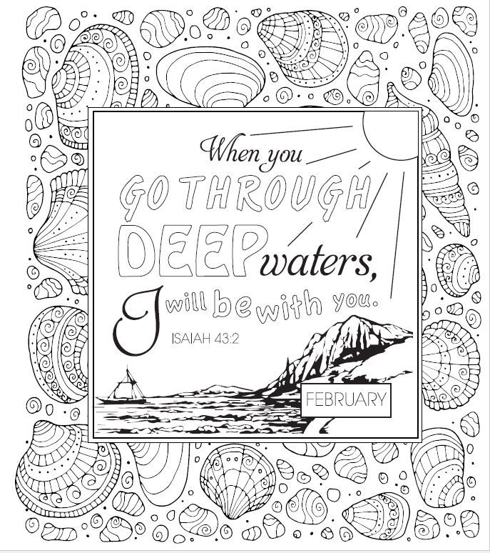download and color this page from all things new  365 day