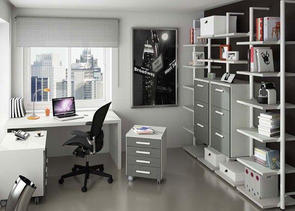 despacho dom stico completamente modular mobiliario