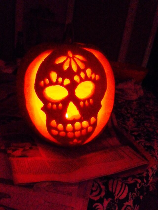 [+] Pumpkin Carving Ideas Day Of The Dead