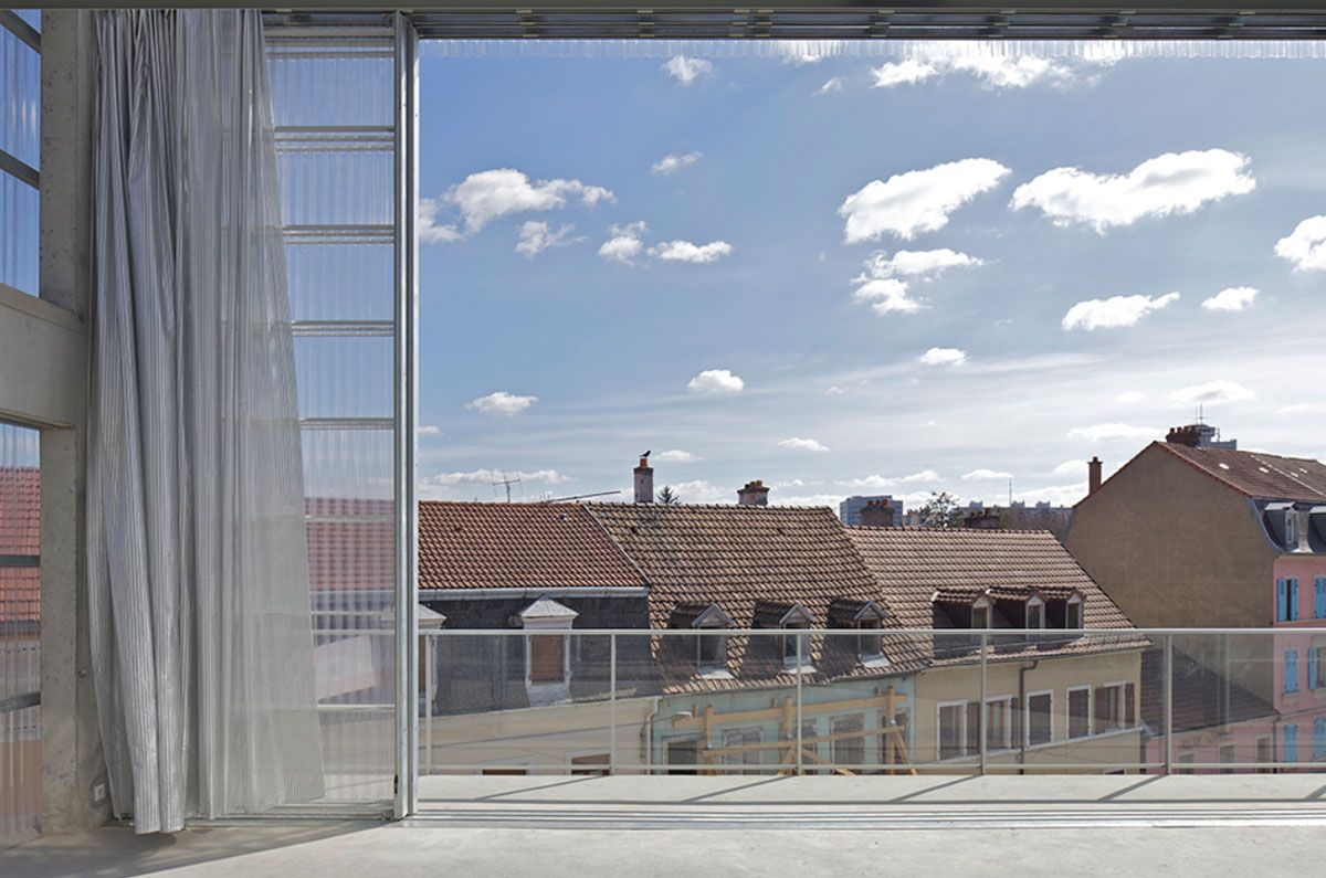 59 dwellings, Neppert gardens, Mulhouse by Lacaton & Vassal ...