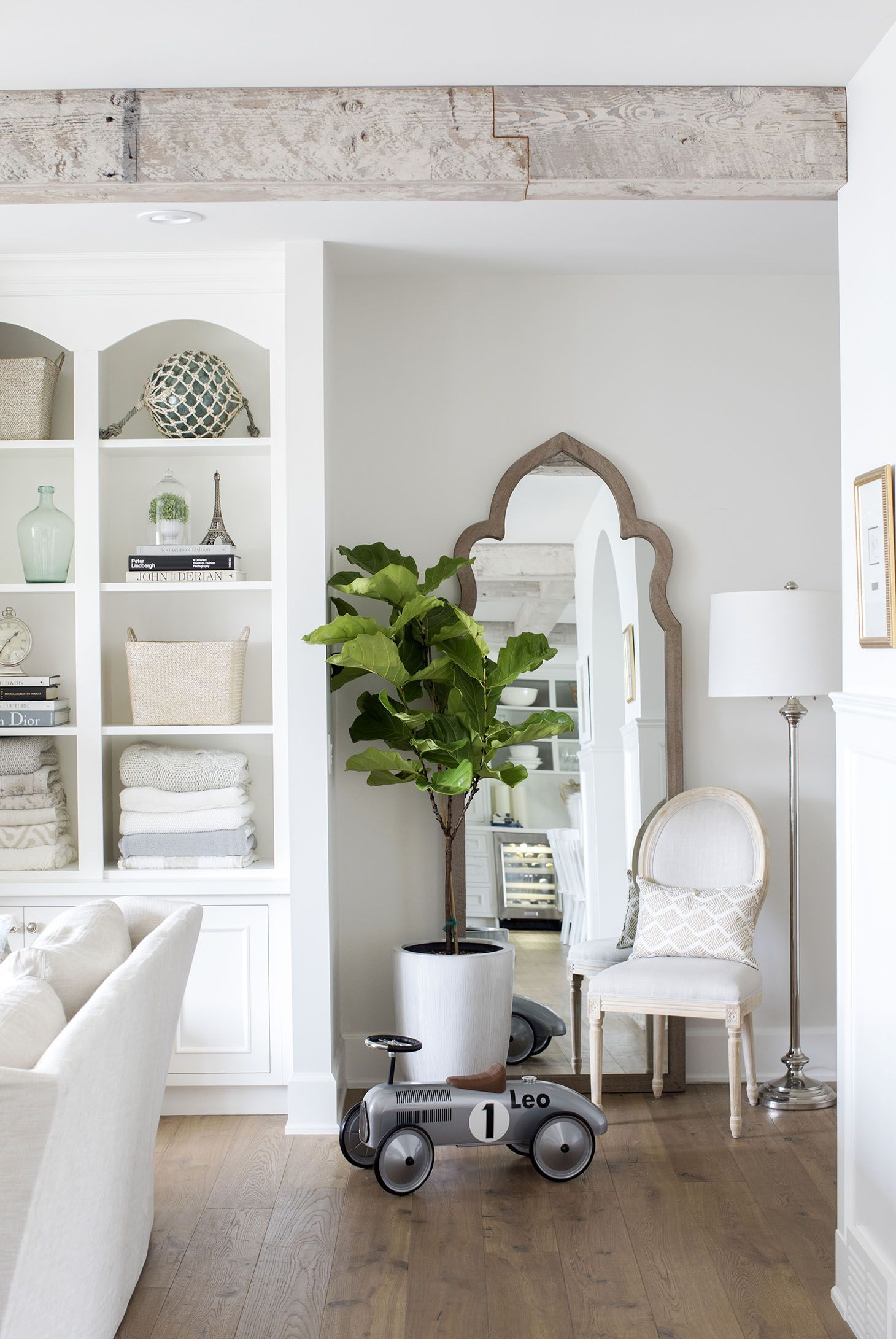 Jillian Harris - Home Tour Series Living Room #Homerenovation #Interiordesign