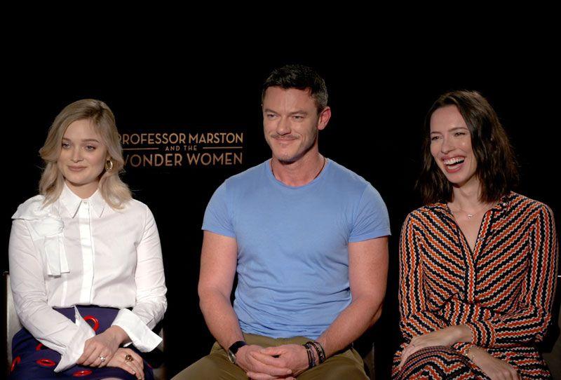 Cs Video Professor Marston And The Wonder Women Cast Cs Video Professor Marston And The Wonder Women Cast Luke Evans Wonder Woman The Incredible True Story