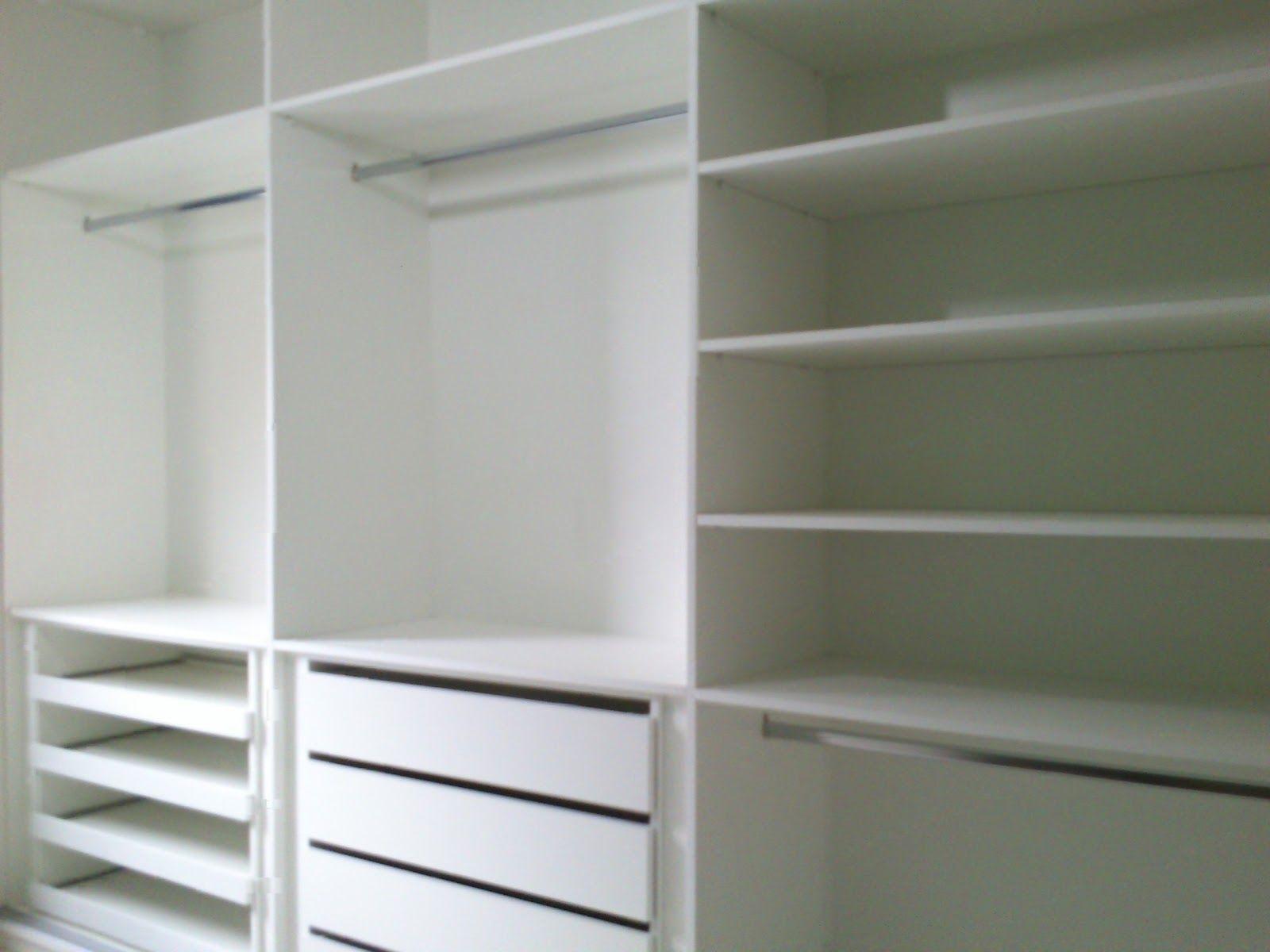 Armario Closet ~ Armário Armário Beb u00ea Pinterest Armário, Armários brancos e Armário beb u00ea