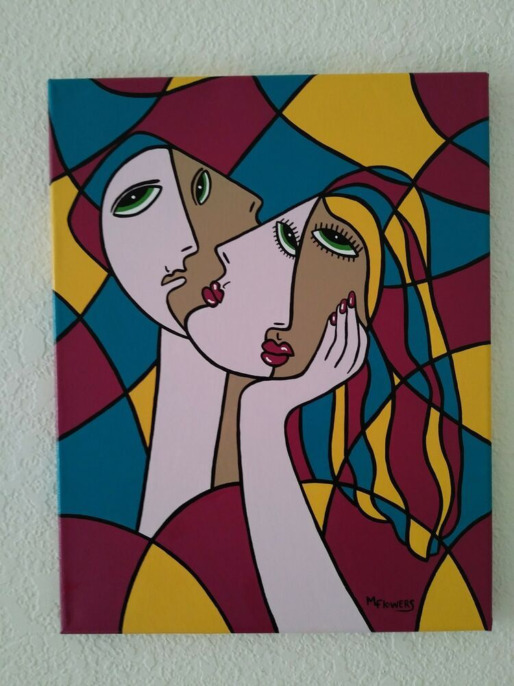 Original Artwork Abstract/modern/avant-garde Painting On Canvaspop
