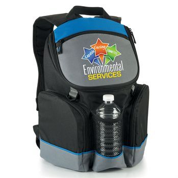 Environmental Services Capable Caring Committed Bridgeport Backpack Cooler