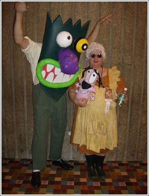 Courage the cowardly dog | Cosplay | Pinterest | Costumes ...