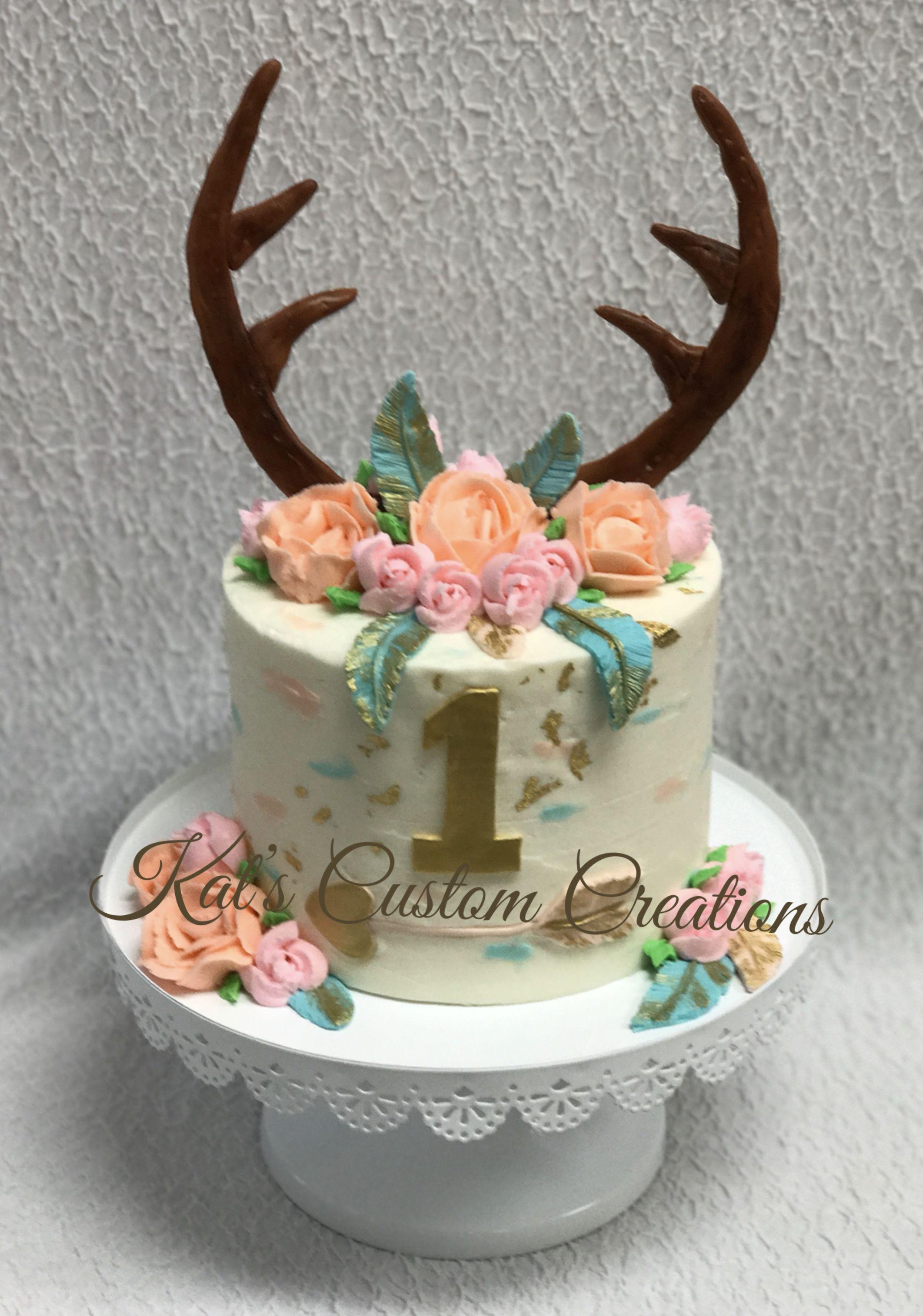 Boho Wild One Smash Cake
