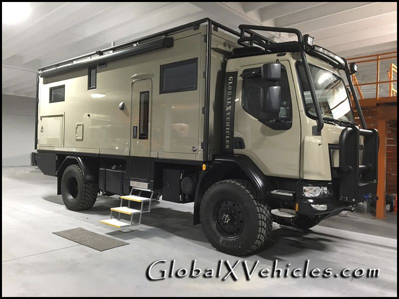 Global Expedition Vehicle Patagonia 4x4 RV | Global