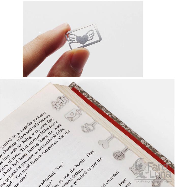 Bookmark sweet love #farodeluna #regalitos #perfectgift #navidad #bookmark #love #happy