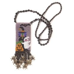 Trick or Treat amulet - Bead&Button Magazine