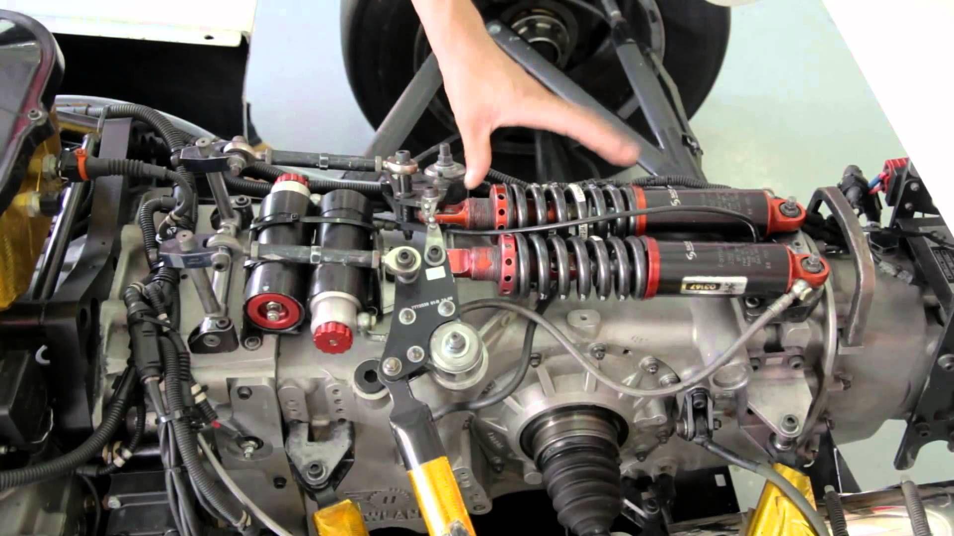 ASIA CUP SERIES - ENGINEERS OF RACING - SUSPENSION - IS