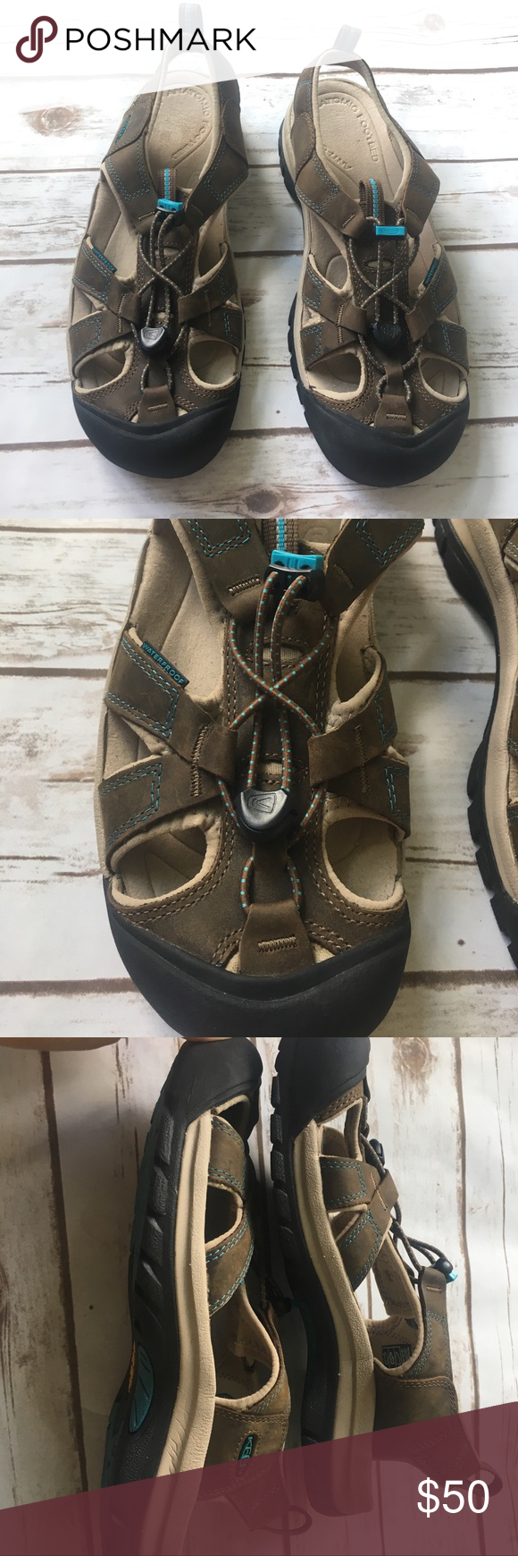 9a55626fdba Keen Woman s Venice Sandal These are in excellent used condition! Looks  like they were hardly worn. Waterproof with an an odor proof anatomic food  bed!
