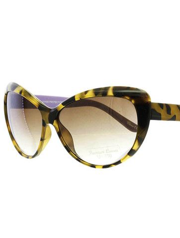 Bye Felicia Tortoiseshell Cat Eye Sunglasses