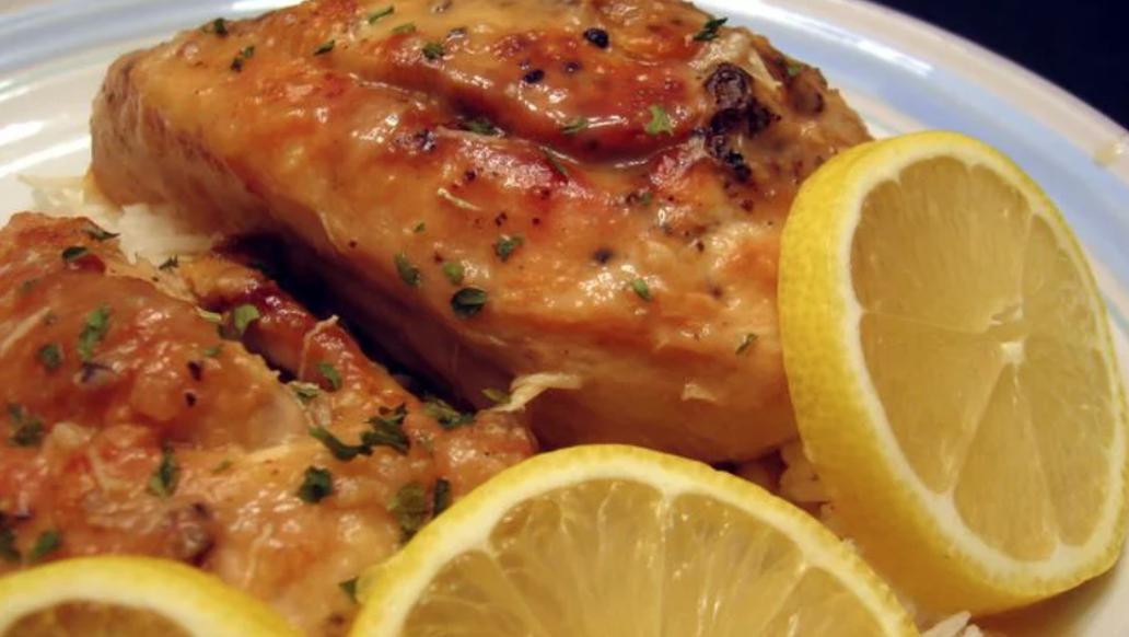 The Best Celebrity Recipes for Summer Lemon chicken
