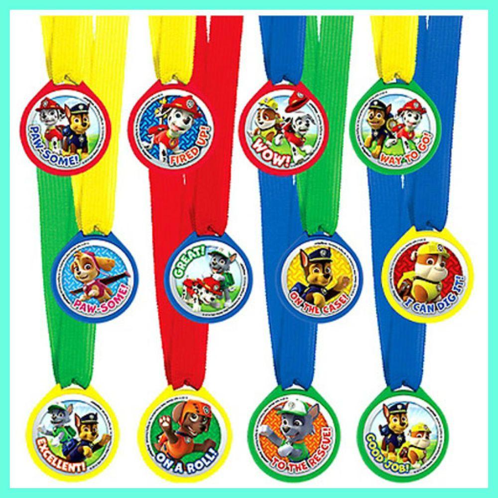 Paw Patrol Medals