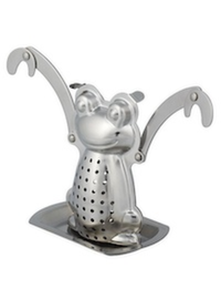 Our stunning frog infuser will make your day.