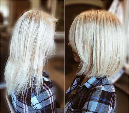 Berühmte Kurzhaarschnitte für feines Haar - Einfache Frisur
