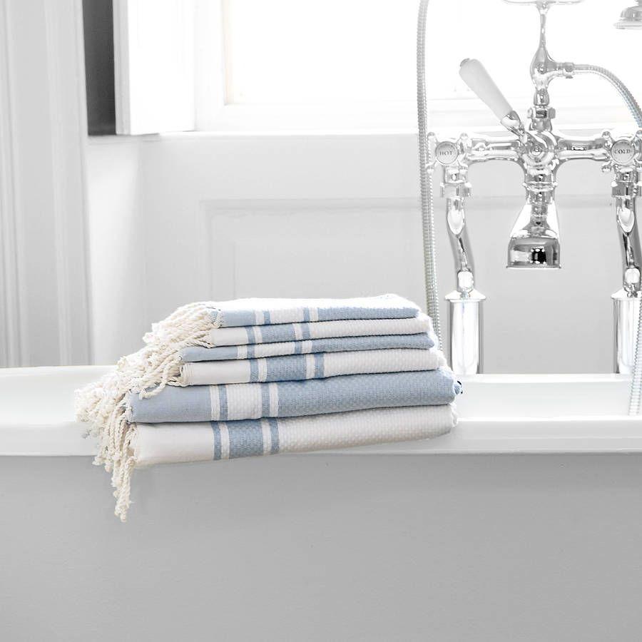 Bathroom Towel Luxury Bathroom Hammam Towel By Febronie Notonthehighstreetcom
