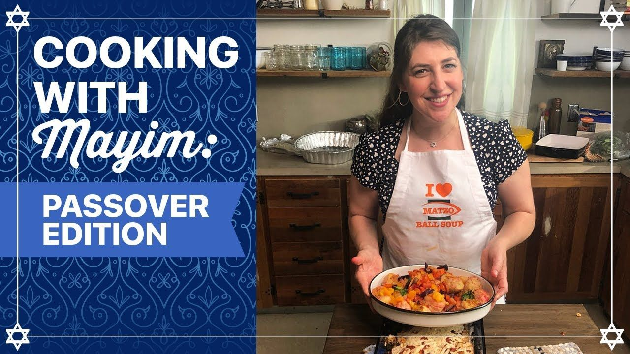 Cooking with mayim passover edition mayim bialik