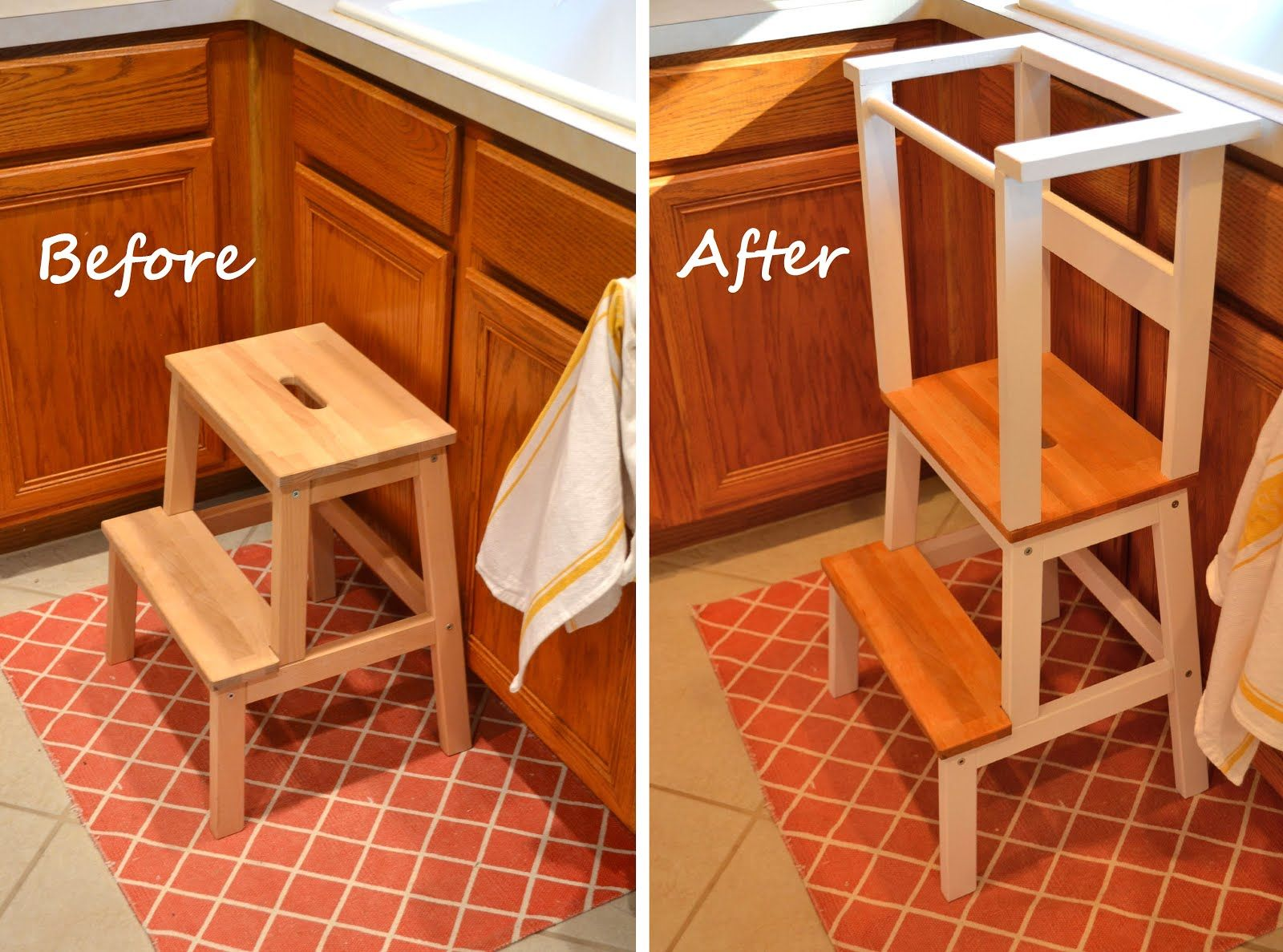 Ikea Step Stool Hack For Toddlers Toddler Kitchen Ikea Step