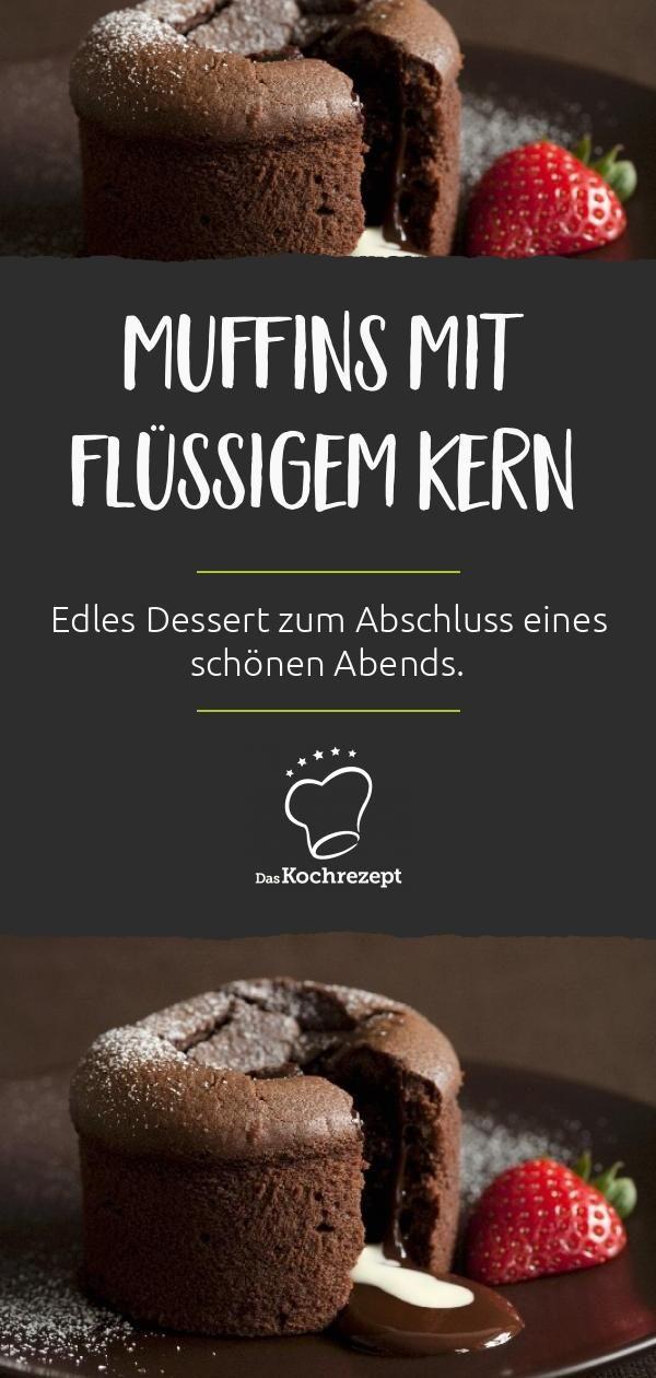 Muffins mit flüssigem Kern #desertlife