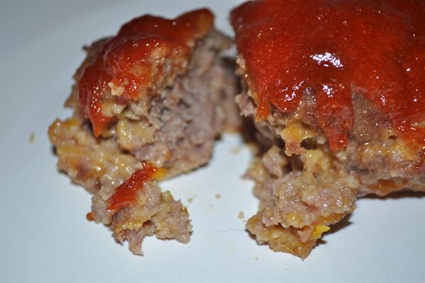Mini Cheddar Meatloaf - Lunch